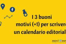 Gestione Social, calendario editoriale e piano editoriale