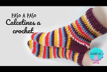 medias a crochet