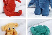Handtücher Tiere