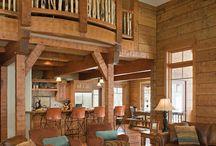 Hus / Log houses