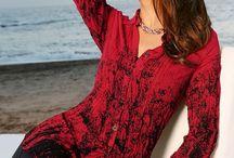 Женские блузки / Модные женские блузки