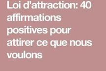 Loi Attraction
