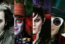 johnny depp / les rôles de johnny depp
