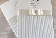 Stripes / On trend gorgeous striped wedding stationery