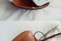 Glasses and bags