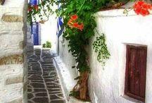 foto z Řecka, Španělska, Itálie...