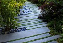 patios and walkways / creative shapes, materials, and details make these patios worth remembering (driveways are on a separate board)
