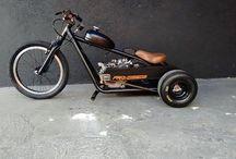 Drift trike and custom bikes