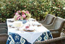 Dining Alfresco / by Lynda @ Gates of Crystal