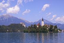 Jezera ve Slovinsku / Bledské jezero, Bohinjské jezero