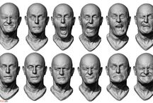 Reference Head and Expressions