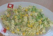 saláty-testovinove,majonezove,zeleninové, zálivky, aj...