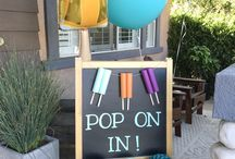 Not Back To School popsicle party