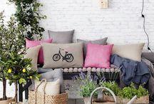 Terraza / Decoración para terrazas y patios