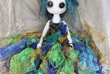 Colourful Art Dolls