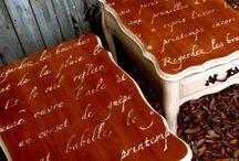Restaurált bútorok