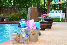 Summer Pool Party Ideas / Nothing quite says summer like a gathering by the pool.