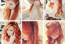 uñas, maquillaje, cabello