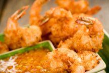 Shrimp / fish dishes