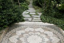 Garden pavements