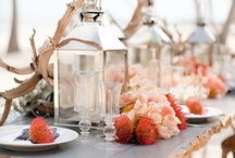 Wedding  decoration / Ideas for wedding table Centerpieces etc, different  themes and colors.