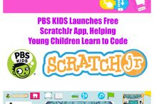 ScratchJr / Coding is the new literacy! With ScratchJr, young children (ages 5-7) can program their own interactive stories and games. In the process, they learn to solve problems, design projects, and express themselves creatively.