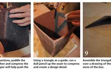 Hand Building methods with clay