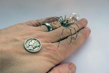 Spiders / I did not watch arachnophobia when I was a kid. Maybe that's why I like spiders.