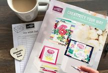 Stampin' Up! 2017 - 2018 annual catalogue