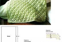 Пледы, одеялки крючком