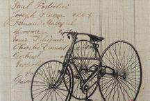La Ronde des bicyclettes / La Passion  des bicyclettes.