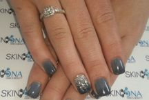 Acrylic powder nails