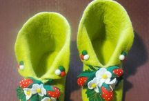 soft slippers / by Corina Mesteroiu