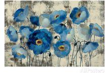 Fleur bleue / nature
