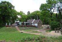 Wandelen in Montferland / Montferland is een fraai stukje Nederland. Bij Uitspanning 't Peeske in Beek beginnen diverse mooie wandelingen langs korenvelden en door mooie bossen