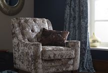 Crush / A luxurious, multi purpose crushed velvet available in 30 vibrant colours. With an opulent drape and richly textured pile, the quality will enhance any classical or contemporary scheme.