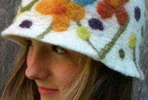 Felt hat keçe şapka