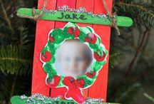 kids Christmas craft fun