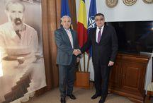 Întrevederea ministrului Angel Tîlvăr cu ambasadorul R. Moldova la Bucureşti