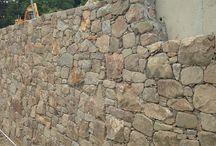 Bahçe duvarı taş kaplama