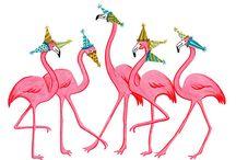 Flamingos / by Athena McQuillen