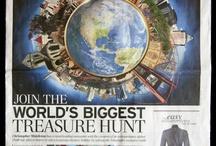 Great Global Treasure Hunt on Google Earth
