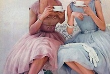 TEA TIME / WHEN I GROW UP I WILL SIT AND DRINK TEA IN MY TEA-DRINKING TREE. / by JANE MARCOTTE