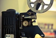 old movie projectors