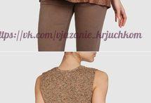Ткань+вязание