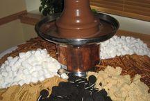 Csokiszökőkút - chocolate fountain