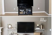Living room - office
