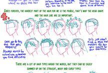 Drawing: Hair.