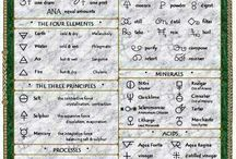 alchemy, occult, religious symbols