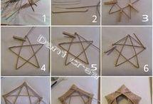 Creare con le cannucce di carta